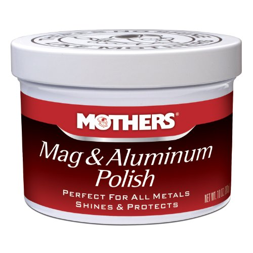 Mothers 05101 Mag & Aluminum Polish - 10 oz. (Stainless Steel Polishing Kit compare prices)