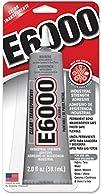 E6000 Craft Adhesive Clear 2 oz