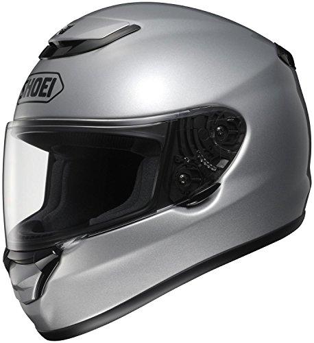Shoei Qwest Solid Full-face Street Helmet Light Silver XL
