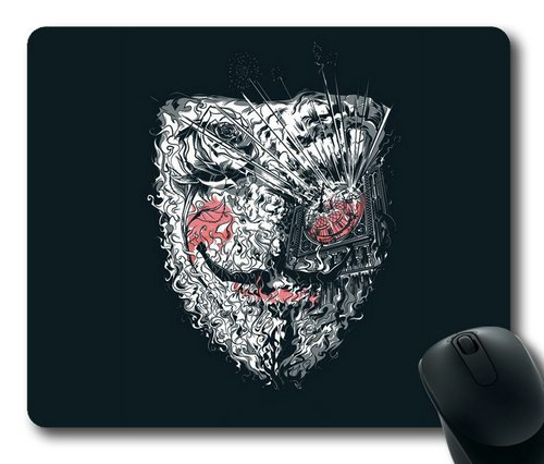 Anonymous Mask Rectangle Mouse Pad By Sakuraelieechyan front-188923