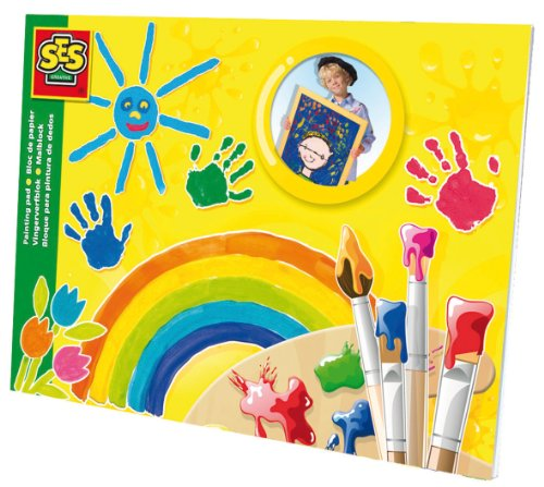 SES Creative Children's Small Painting Pad, 24 x 32cm - 1