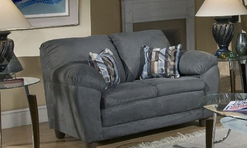 Chelsea Home Julia Loveseat in Bulldozer Mocha