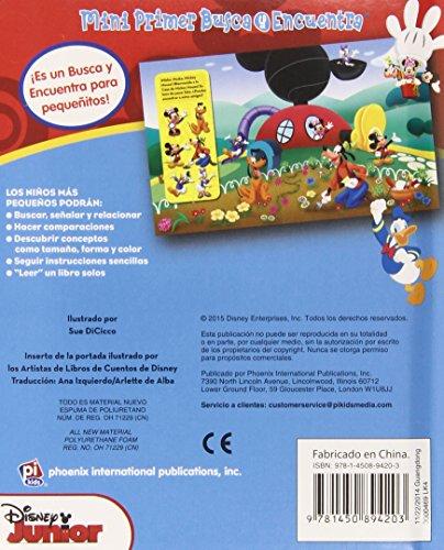 Set Vinilo Disney Pixar de 4 Libros. Busca Y Encuentra