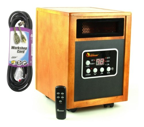 Dr infrared heater usa 1500w dual system portable quartz Dr infrared heater