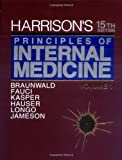 img - for Harrison's Principles of Internal Medicine: 15th Edition, 2-Volume Set (Harrison's Principles of Internal Medicine (2v.)) book / textbook / text book