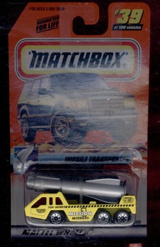 Matchbox 1999-39 of 100 Series 8 Space Explorer Missile Transporter 1:64 Scale - 1