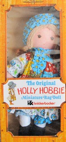 knickerbocker-the-original-holly-hobbie-miniature-rag-doll-8-tall-1976