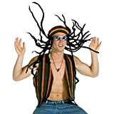 Rasta Imposta Outfit Sunglasses Tam Vest and Necklace