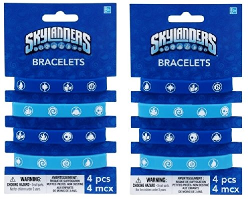 Skylanders Elements Logo Bracelets (PACK OF 2) Party Favors