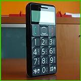 Seniorenhandy Großtastenhandy SOS Notruf - SMS LED MP3 Schwarz Avcibase