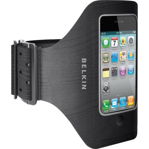 Belkin Profit Armband For Apple Iphone 4/4S (Black) - Water Resistant Case