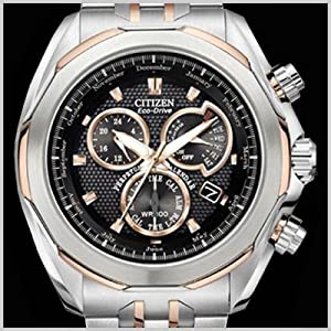 Citizen Signature Men's BL8076-52E Perpetual Calendar Black Dial Watch