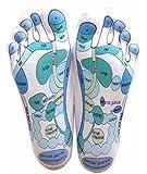 Reflexology Socks - Reflexology Zones Marked. 1 Pair
