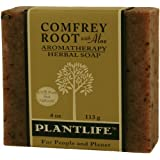 Comfrey w/Aloe 100% Pure and Natural Aromatherapy Herbal Soap- 4 oz (113g)