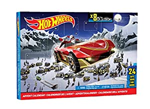 Mattel Hot Wheels CBL07 - Adventskalender 2014