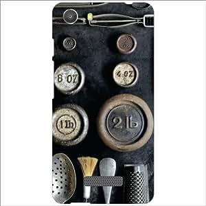Micromax Unite 3 Q372 Back Cover - Silicon Abstract Designer Cases