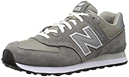 New Balance Men\'s ML574 Lifestyle Sneaker,Grey/Silver,11.5 EE