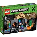 LEGO Minecraft The Dungeon with Steve and 2 Zombies