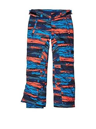 Chiemsee Pantalón Esquí (Azul / Rojo / Negro)