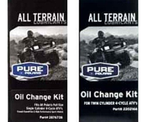 POLARIS PS-4 OIL FILTER CHANGE KIT SPORTSMAN ATV RANGER 330 400 500 550 850 (Oil Filter Kit compare prices)