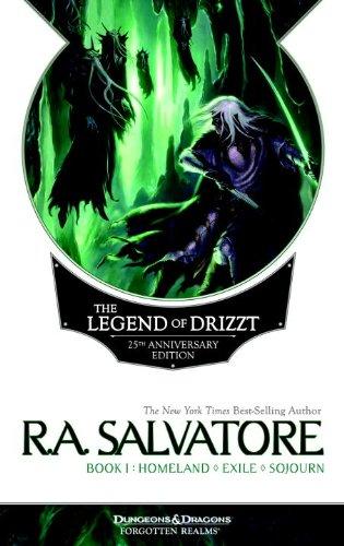 The Legend of Drizzt 25th Anniversary Edition, Book I PDF