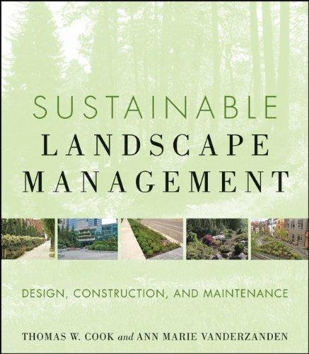 Sustainable Landscape Management: Design, Construction,...