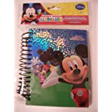 Disney Holographic Spiral Journal ~ Mickey Mouse Clubhouse (Donald, Minnie & Mickey Fun)