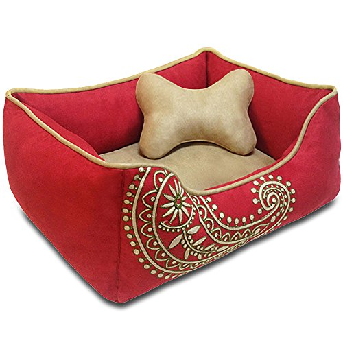 Blueberry-Pet-Heavy-Duty-Microsuede-Whole-Bed-or-Bed-Cover-for-Cats-Dogs-Recyclable-Removable-Stuffing-Shop-a-Whole-Bed-with-Cover-for-Change