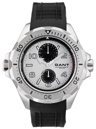 Gant W10614 - Orologio da polso da uomo, cinturino in caucciù colore nero