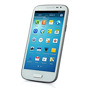 HTM H9500+ Smartphone Android 4.2 MTK6582 5.0 Inch HD Gorilla Glass OTG 3G- White