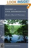 Walden and Civil Disobedience (Barnes & Noble Classics)