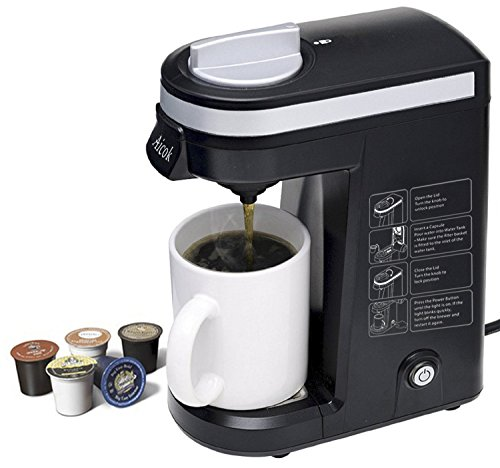 K Cup Coffee Maker Ratings : Aicok K-cup Coffeemaker Compact Single Serve Coffee Brewer Reviews Best coffeemakers