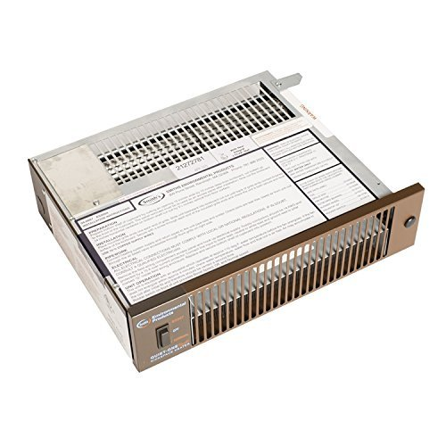 Quiet-One 2000 Series 4,000 BTU Brown Hydronic Kickspace Heater (Not Electric) by Quiet One (Hydronic Kickspace Heater compare prices)