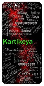 Kartikeya (God Of War, One Born In Month Of Kartik Or Kritika Nakshatra) Name & Sign Printed All over customize & Personalized!! Protective back cover for your Smart Phone : Apple iPhone 7