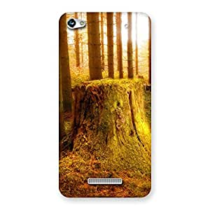 Ajay Enterprises Cut Tree Back Case Cover for Micromax Hue 2