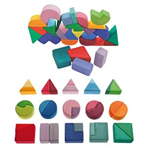 Kids Square Triangle Stacking Toys