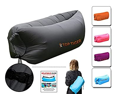 Top Tiger Komfortable Praktische aufblasbare Hangout Sofa Luft gefüllt Sleeping Compression
