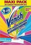 Vanish Pack de 30 Lingettes Anti Transfert de Couleurs - Lot de 2