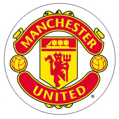 Manchester United FC Authentic EPL Sticker Great For Car