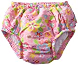 i play. Baby-girls Infant Ultimate Ruffle Swim Diaper