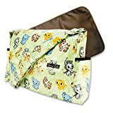 Trend Lab Messenger Bag Style Diaper Bag, Chibi