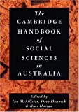 img - for The Cambridge Handbook of Social Sciences in Australia book / textbook / text book