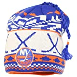 Reebok Fashion Ski Tassel NHL Winter Knit Hat - New York Islanders at Amazon.com