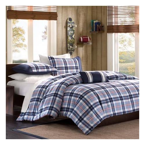 Elliot Plaid Comforter Set