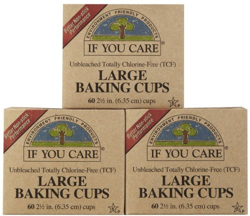 If You Care Unbleached Large Baking Cups, 60 ct, 3 pk (If You Care Baking Cups compare prices)