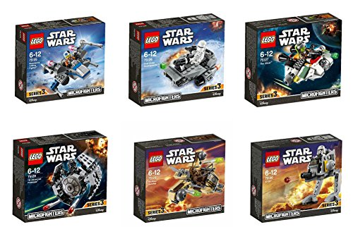 the-complete-lego-star-wars-series-3-microfighter-set-lego-star-wars-resistance-x-wing-figther-75125