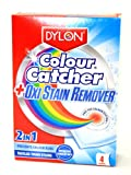 Dylon 2 in 1 Colour Catcher & Oxi Stain Remover (4 sachets)