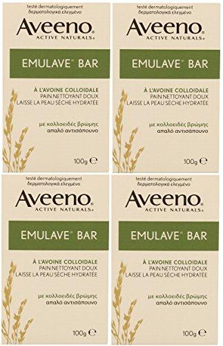 4-x-100g-aveeno-emulave-bar-moisturising-with-colloidal-oatmeal
