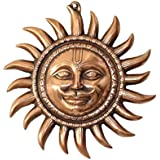 APKAMART Hand Crafted Metal Sun Wall Hanging - 11 Inch Height - Wall Showpiece For Wall Decor, Home Decor, Room...
