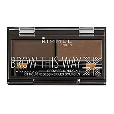 Rimmel Brow This Way Sculpting Kit, 0.04 Ounce